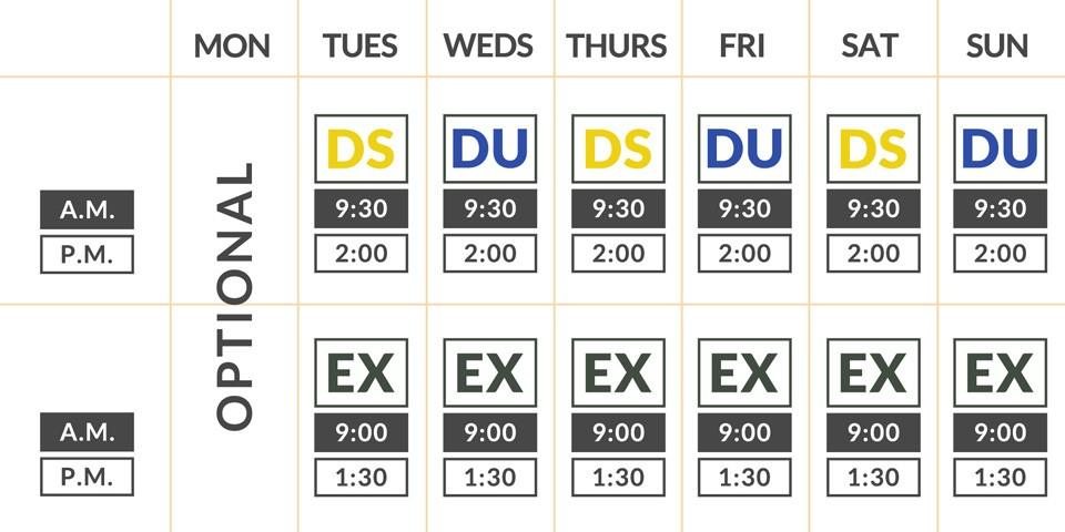Exmoor Safari Timetable - Exmoor Wildlife Safaris